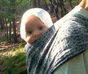Tragetuch für Neugeborene - Biobaumwolle